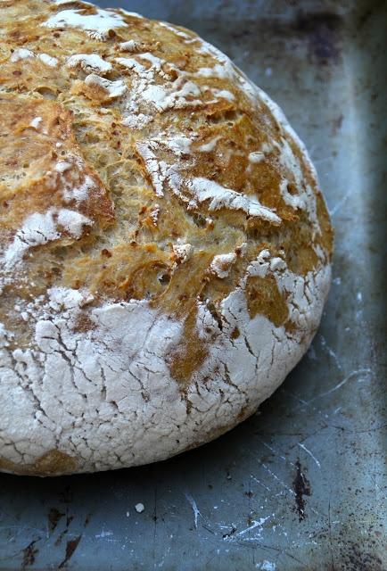 No knead brød med quinoa