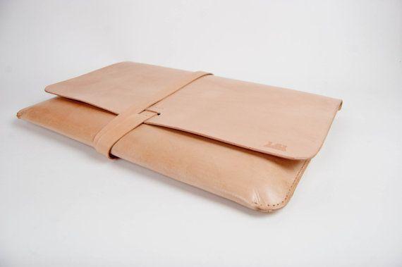 Leather MacBook Pro 15 Case/Portfolio NudeNatural by 1point61