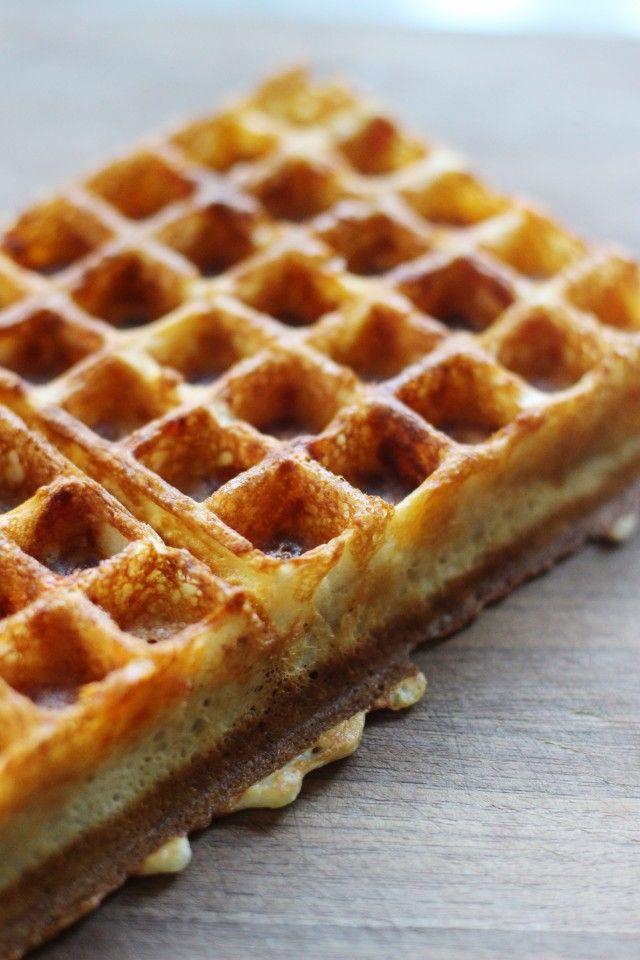 Savory Waffles | HonestlyYUM