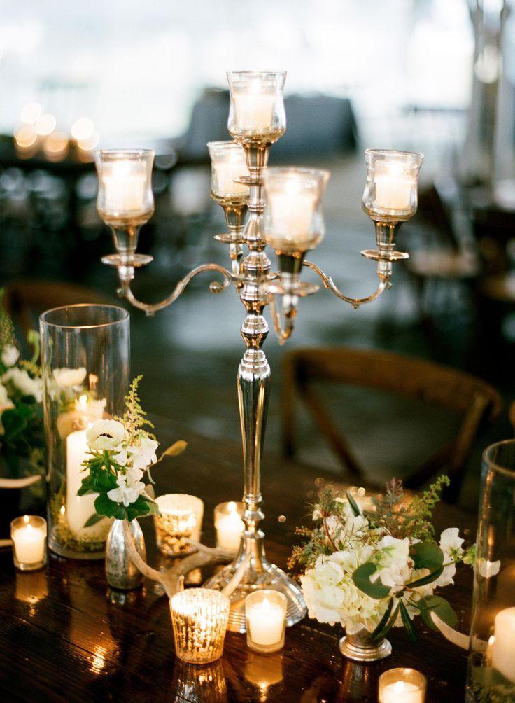 Best ideas about candelabra centerpiece on pinterest