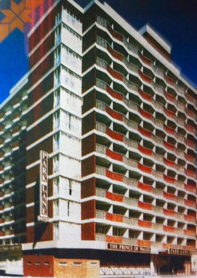Park Lane Hotel. Van Der Merwe Street, Hillbrow.