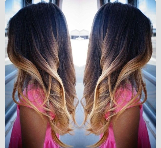 Perfect Ombre For Dark Brown Black Hair Grey Hair
