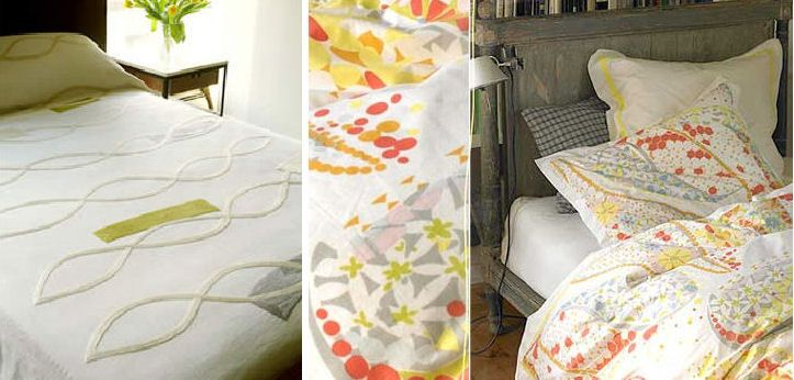beachy pastel bedding: Pastel Beds, Beachi Pastel