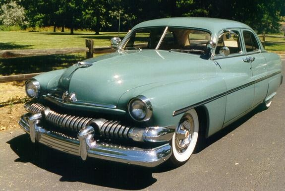 17 best images about cars on pinterest plymouth for 1951 mercury 4 door sedan