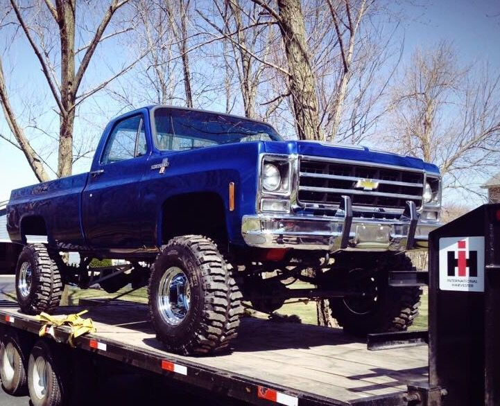 79 K20.....perfect. | Chevy trucks, 79 chevy truck, Lifted ...