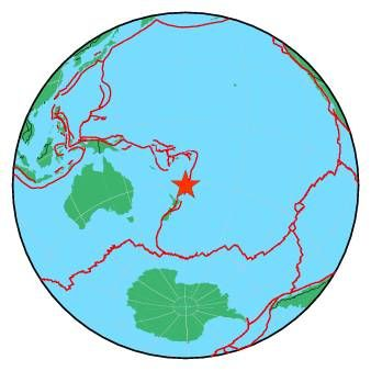 06/15/2017 - Shallow earthquake of Magnitude 5.9 hits Kermadec Islands.... was a 6+ when I saw it on the Live Earthquakes Map last evening...another downgrade.