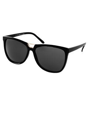 ASOS Bridge Detail Cat Eye Sunglasses