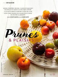 Châtelaine octobre 2016: Prunes & plaisirs