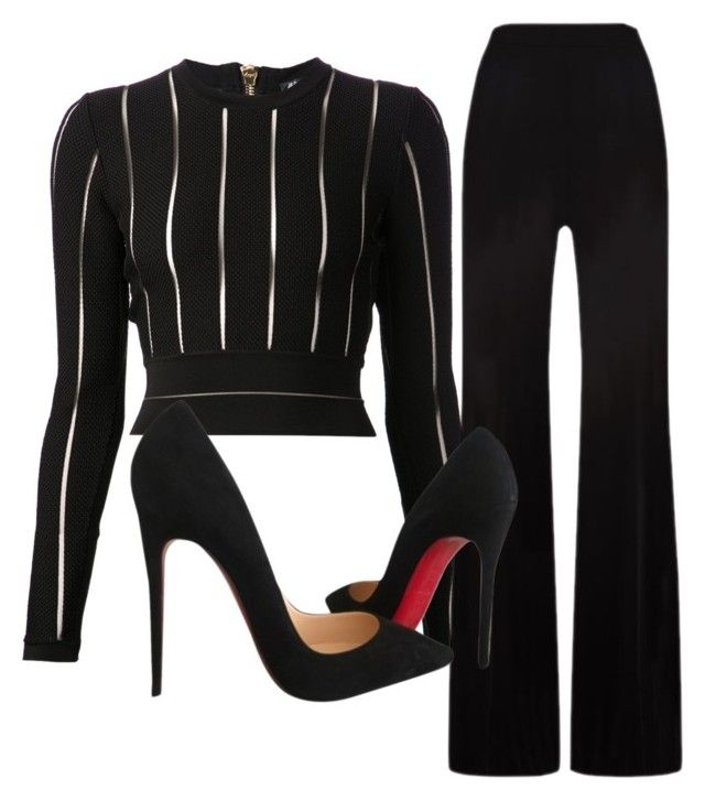 www.shepresents.co.uk by shepresents on Polyvore featuring polyvore fashion style Balmain MaxMara Christian Louboutin women's clothing women's fashion women female woman misses juniors