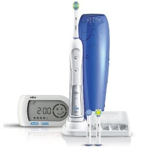 My toothbrush - Braun Oral-B Triumph 5000 Power Toothbrush with Smart Guide 80600fa003c2