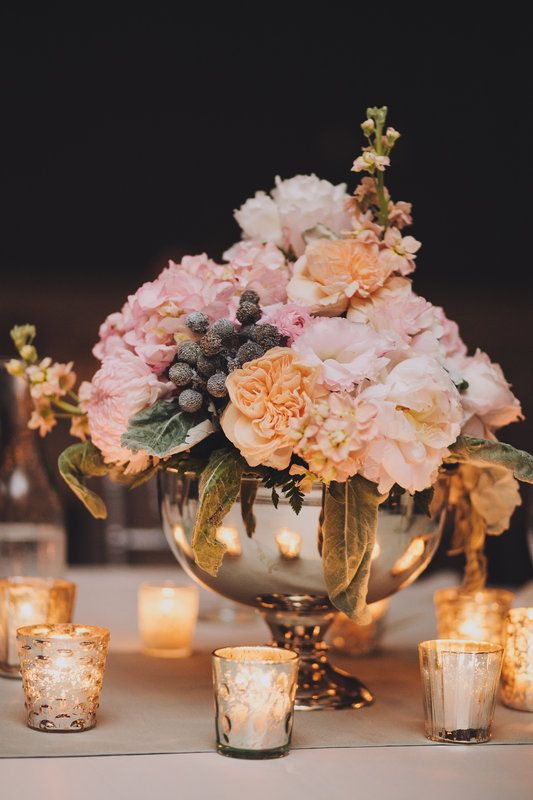Awesome Centerpieces  Photo By M Lindsay Photography