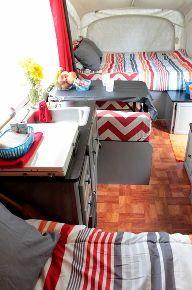 thrifty pop up camper renovation, countertops, flooring, home decor