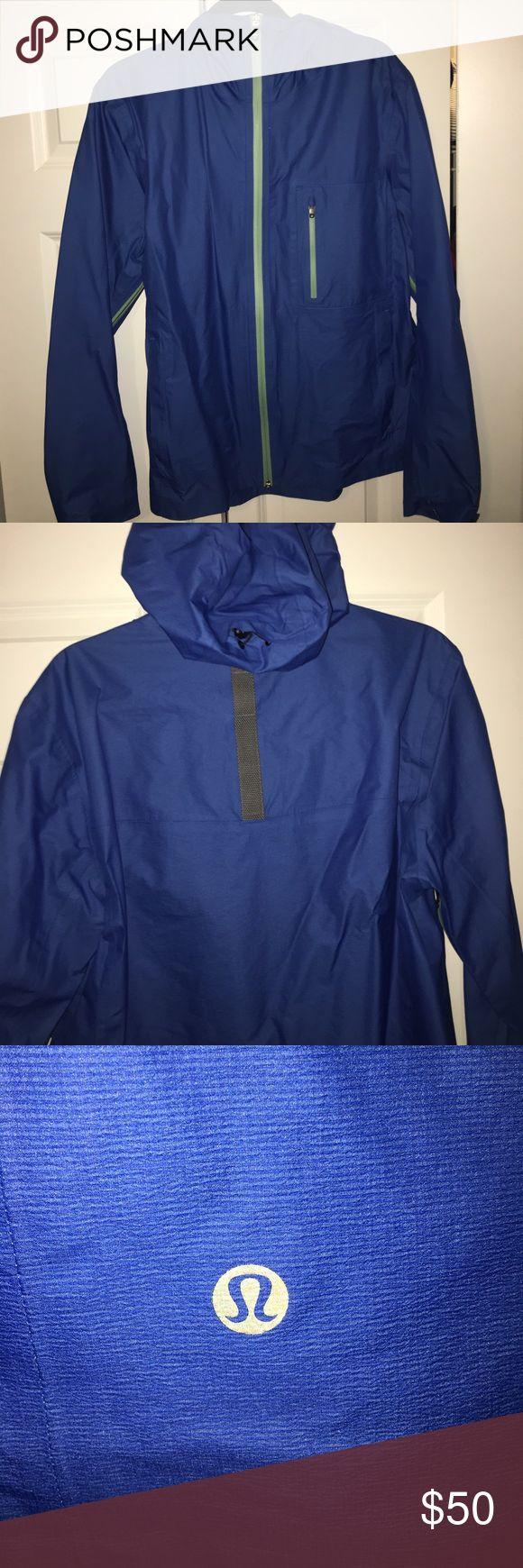Men's Medium Lululemon Rain jacket Men's Medium Lululemon Rain jacket. Worn only once. Perfect for running and working out when the weathers a little rainy lululemon athletica Jackets & Coats Raincoats