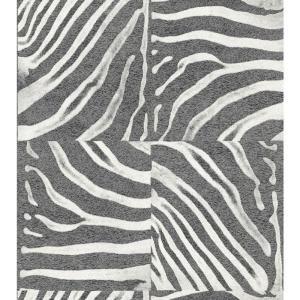 Washington 56 sq. ft. Zebra Skin Wallpaper, AQ423303 at The Home Depot - Tablet