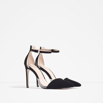 Image 3 of VINYL D'ORSAY SHOES from Zara