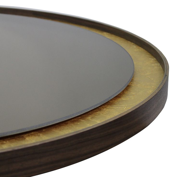 Notre Monde - Gold Leaf Bronze Wall Mirror