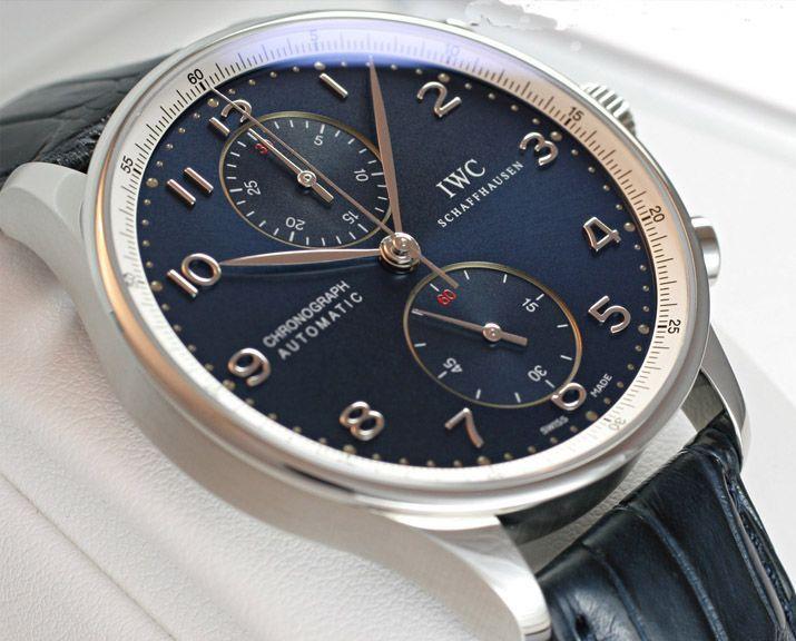 IWCポルトギーゼクロノ ローレウス IW371432 青 -IWC時計コピー