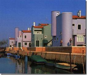 giancarlo de carlo, residenze a Mazzorbo, Venezia.