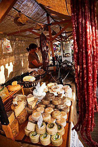 Mercat a Pals, Baix Emporda, Costa Brava, Girona province, Catalonia