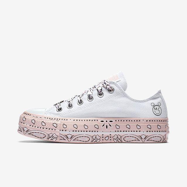 c5b8d04f9b60 Converse x Miley Cyrus Chuck Taylor All Star Lift Low Top Women s Shoe.  Nike.