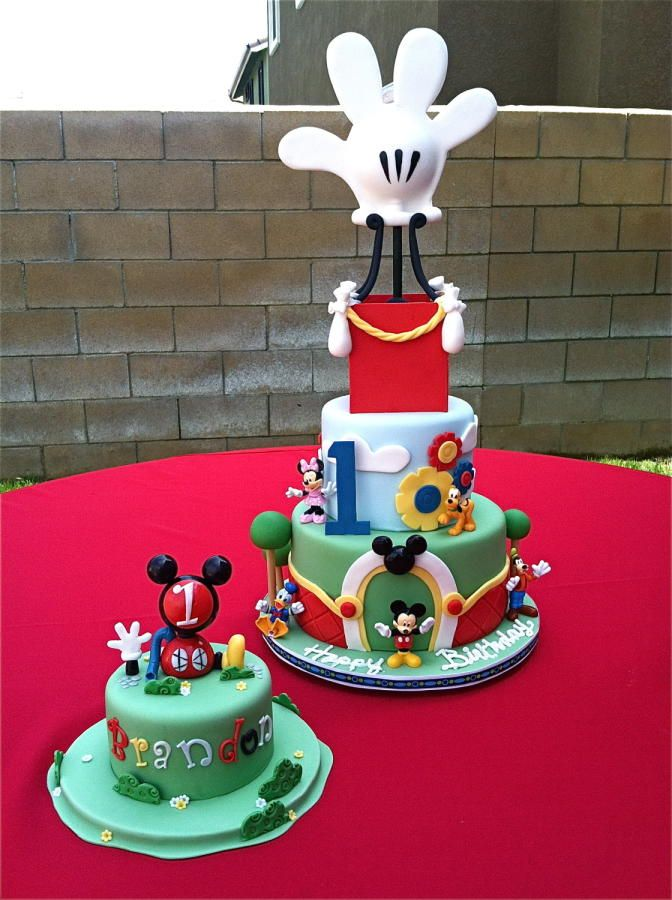 Mickey Mouse Birthday Cake - Cake by The Cake Diosa