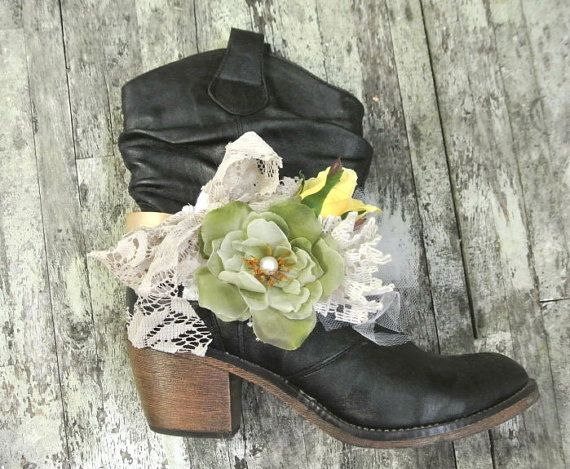 Boot Bling Ugg Accessories Cowgirl Boots Boho by TrueRebelClothing, $28.00