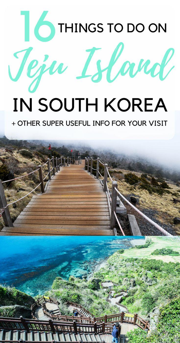 Jeju Island, South Korea | Hotels on Jeju Island | Where to Eat on Jeju Island | Facts about Jeju Island | Best Time to Visit Jeju Island | Spring on Jeju Island | Cherry Blossom, Jeju Island | Cherry Blossom, South Korea | Rent a Car on Jeju Island | Public Transport Jeju Island | 16 Things to do on Jeju Island | Climb Mount Hallasan | Sunset Beach Hyeopjae Beach | Beaches, Jeju Island | Seongsan Ilchulbong Peak Jeju Island | Beautiful Parks, Jeju Island | Waterfalls on Jeju Island…