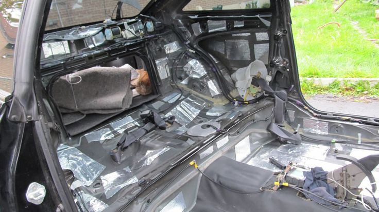 Car Sound Proofing Installation Sound proofing, Car, Car