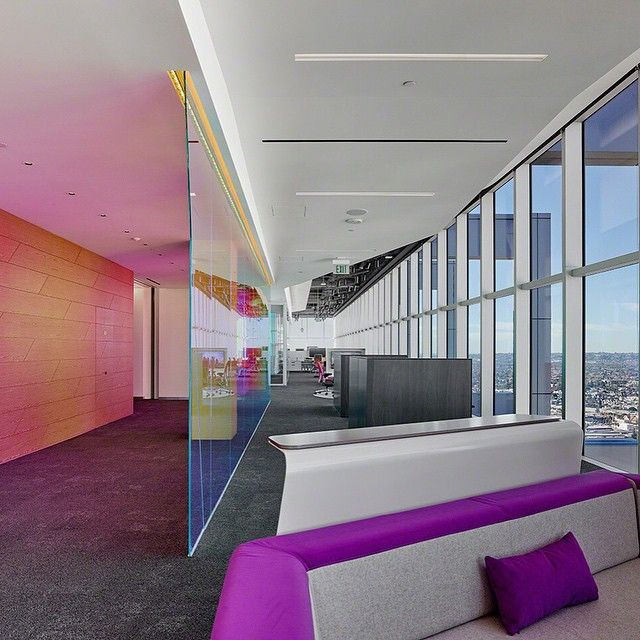 We are thrilled with the lighting view and location of our los angeles worklife center