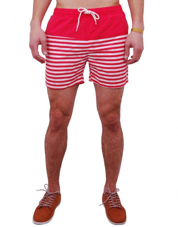 #Maillotdebain #Summer #Minimum http://www.letagehomme.com/maillot-de-bain-rouge-raye-tahoe.html