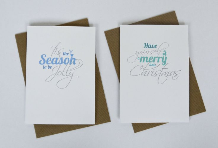 New Christmas card designs