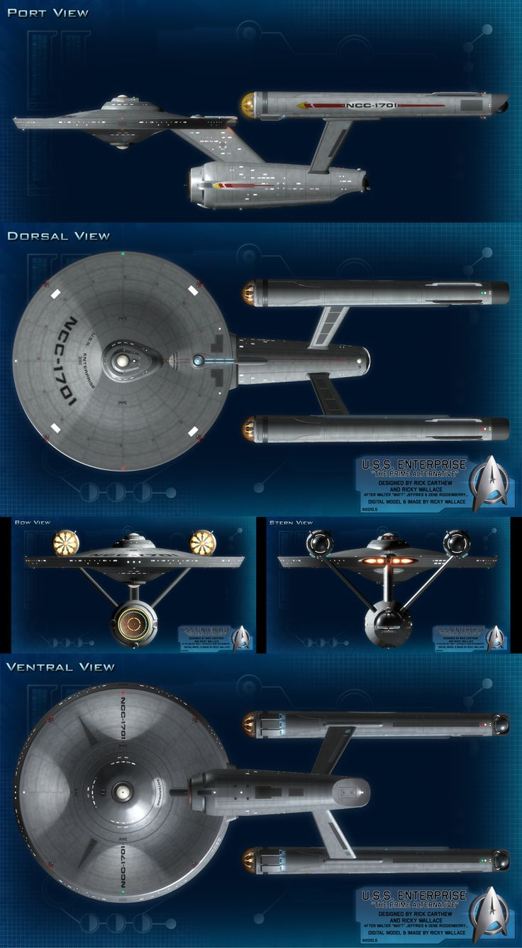 Proposed upgrades to the U.S.S. Enterprise NCC-1701