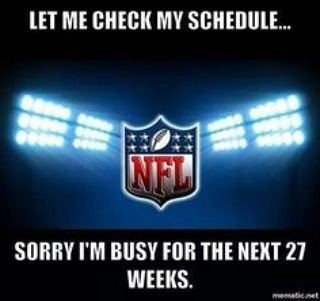 Anyone else ready for some football? #NFL regular season action starts in just a couple hours!  #football #regular #season #meme #raiders #seahawks #score #fantasy #believe #sport #fun #action #play