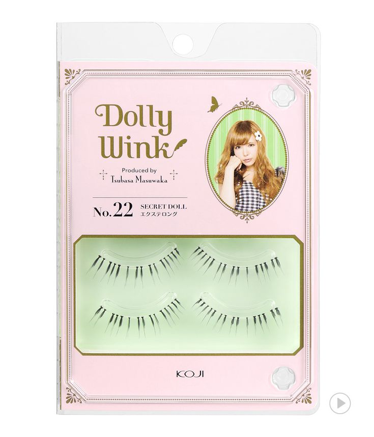 Dolly Wink Eyelash No.22 Secret Doll
