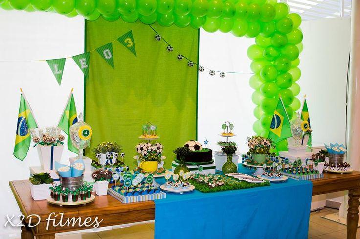 Festa Infantil Copa do Mundo
