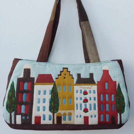 Amsterdam Canal house bag