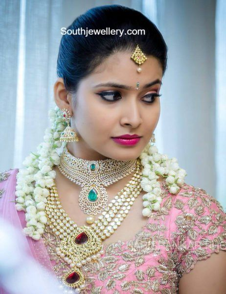 Ramya's engagement jewellery
