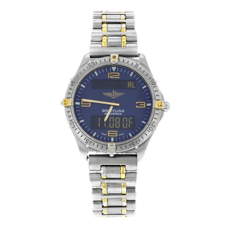 AUCTION Breitling Aerospace F56062 Titanium Quartz Men's Watch