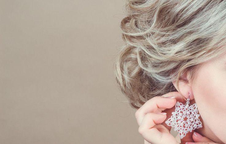 """Купить """"Русские сезоны"""" - вечерние серьги - белый, свадебные украшения, свадебные серьги, белые серьги"""