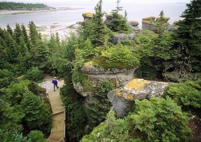 Mingan Archipelago National Park Reserve in Quebec