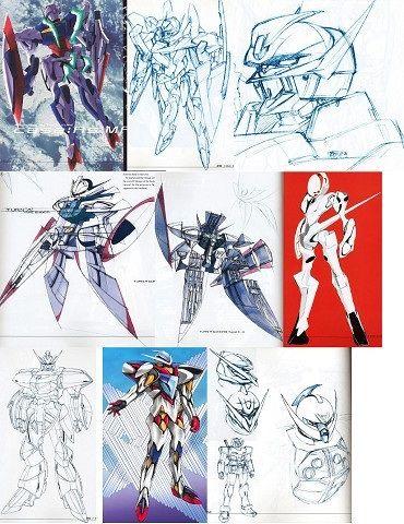 ∀ Gundam (∀(ターンエー)ガンダム, Tān Ē Gandamu)  ERROR888-Tumblr