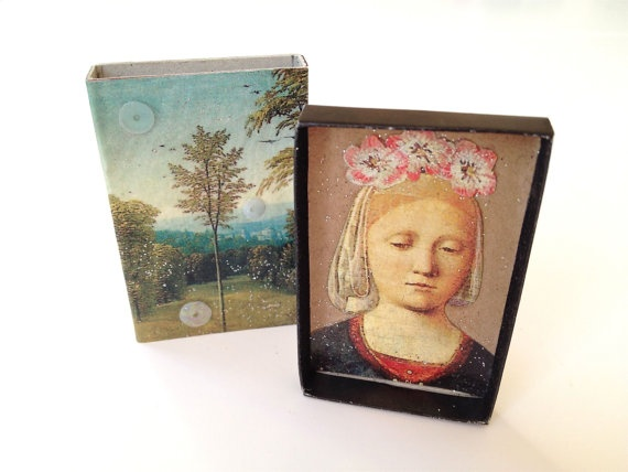 Madonna of the Rhine  magpieworkshop on etsy