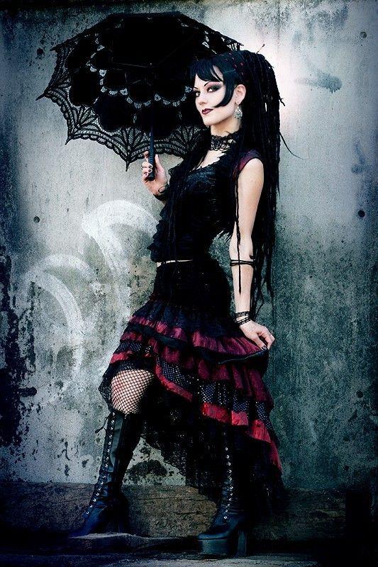 #gothic #fashion #gothic_fashion #goth