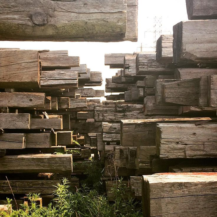 At The Timeless Material Co. We have no shortage of reclaimed hand-hewn timbers. Each one reclaimed from local barns and buildings ready to be recycled and repurposed however you'd like. #reclaimed #interiordesign #rusticdesign #woodworking
