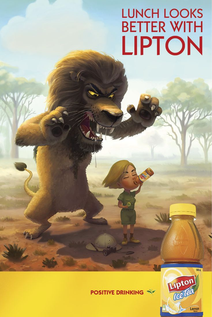 Lipton Ice Tea: Lion