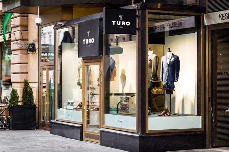 Turo Flagship Store in Helsinki. Retail Concept byt Poiat.