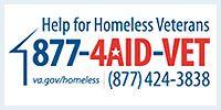 help for homeless veterans