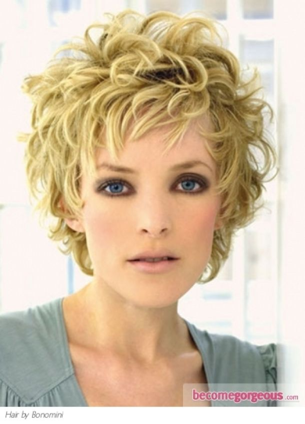 short curled hair curly hair style hairstyles pictures free 13314