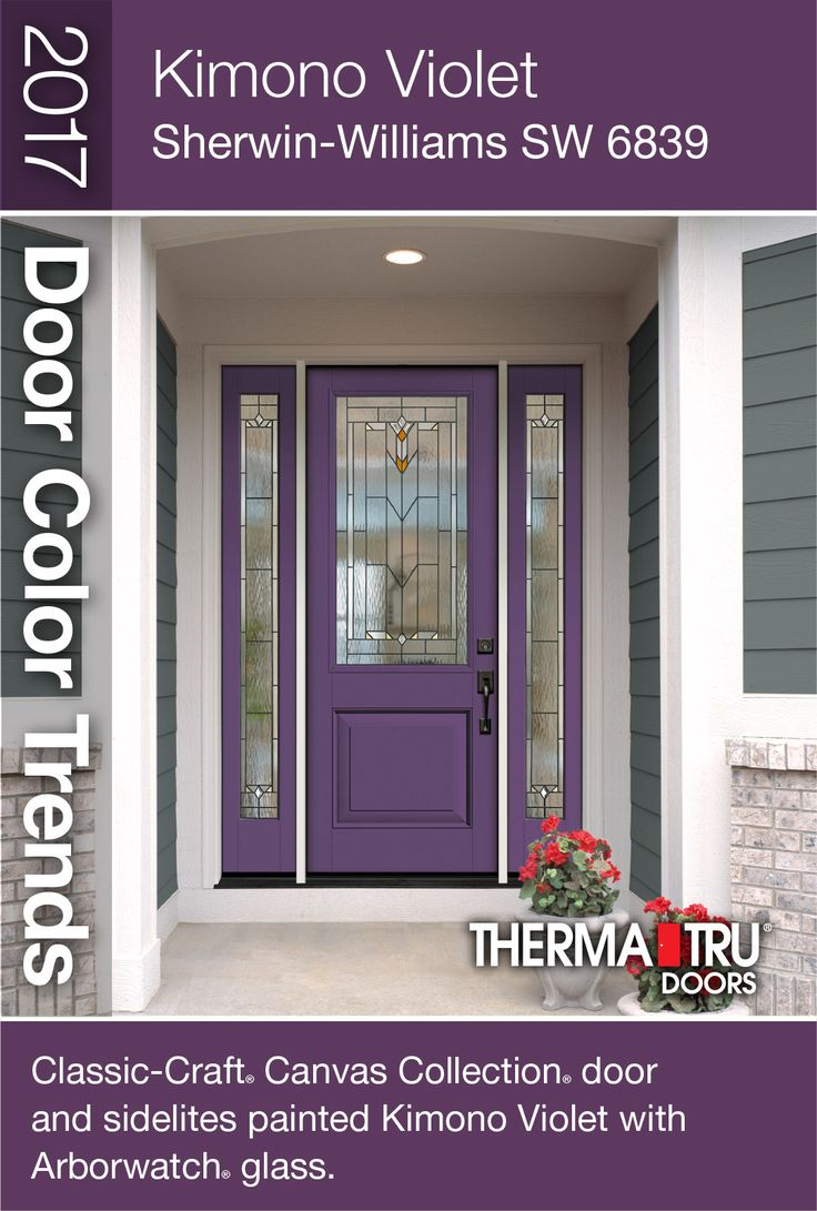 Tremendous Kimono Violet Sherwin Williams Sw 6839 A Magical Color Door Handles Collection Dhjemzonderlifede