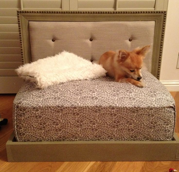 359 best images about dog beds on pinterest for Self made headboards